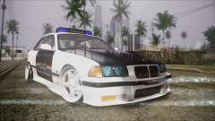 BMW M3 E36 Police para GTA San Andreas