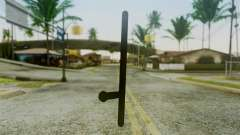 Police Baton from Silent Hill Downpour v2 para GTA San Andreas