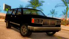 FBI 4-door Yosemite para GTA San Andreas