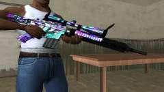 Automatic Sniper Rifle para GTA San Andreas