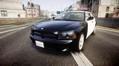 Dodge Charger 2010 LAPD [ELS] para GTA 4