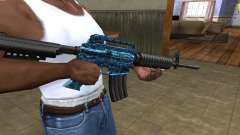 M4 Blue Snow para GTA San Andreas