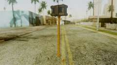 Bogeyman Hammer from Silent Hill Downpour v1 para GTA San Andreas