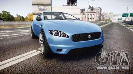 GTA V Ocelot Jackal new york plates para GTA 4