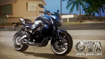 Honda CB650F Azul para GTA San Andreas