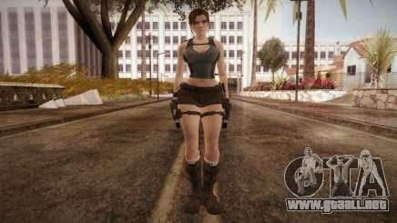 Well Armed Lara Croft para GTA San Andreas
