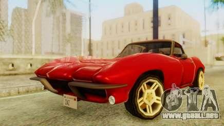 Chevrolet Corvette Sting Ray 427 SA Style para GTA San Andreas