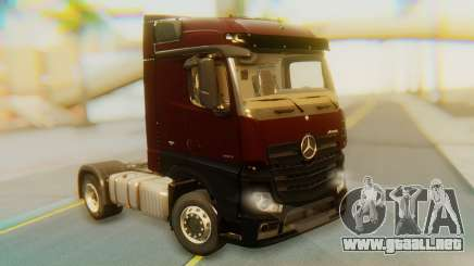 Mercedes-Benz Actros MP4 Stream Space Black para GTA San Andreas