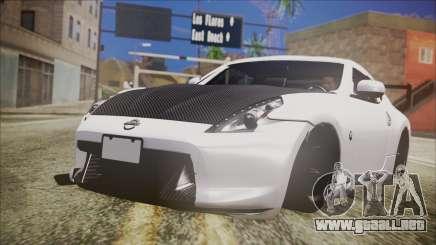 Nissan 370Z SPPC para GTA San Andreas