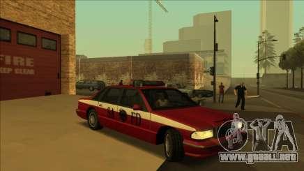 FDSA Premier Cruiser para GTA San Andreas