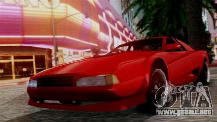 Cheetah New Edition para GTA San Andreas