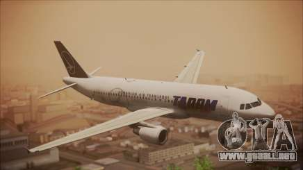 Airbus A320 TAROM Romania para GTA San Andreas