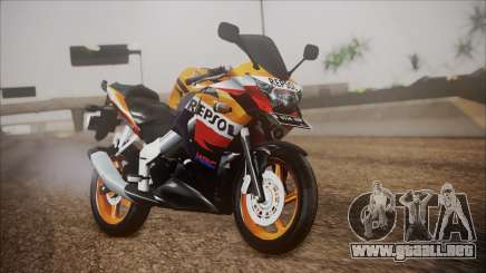 Honda CBR150R Repsol CBU para GTA San Andreas