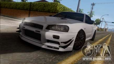 Nissan Skyline GT-R34 para GTA San Andreas