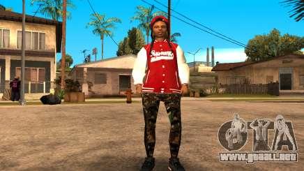 Army Girl para GTA San Andreas