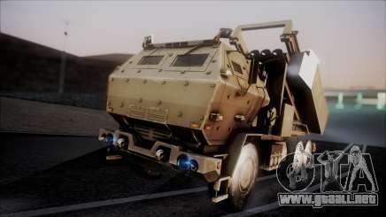 M142 HIMARS Desert Camo para GTA San Andreas