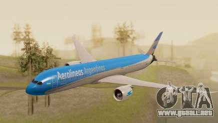 Boening 737 Argentina Airlines para GTA San Andreas