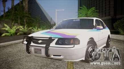 Chevrolet Impala FBI Slicktop para GTA San Andreas