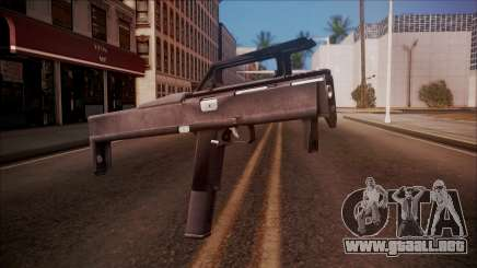 FMG-9 from Battlefield Hardline para GTA San Andreas