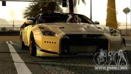 Nissan GTR-R35 Rocket Bunny para GTA San Andreas