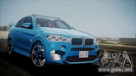 BMW X6M 2015 para GTA San Andreas