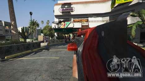 GTA 5 M-76 Revenant из de Mass Effect 2 cuarto captura de pantalla