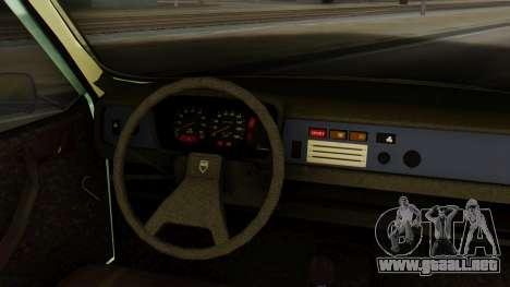 Dacia 1310 para GTA San Andreas vista posterior izquierda
