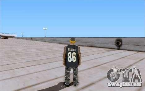 Los Santos Vagos Skin Pack para GTA San Andreas sucesivamente de pantalla