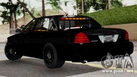FBI Rancher 2013 para GTA San Andreas left