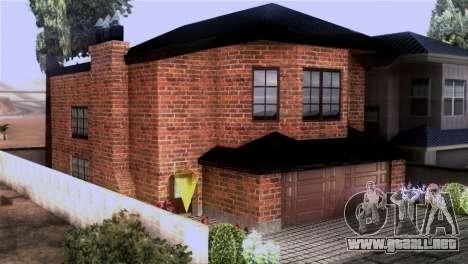 CJs New Brick House para GTA San Andreas segunda pantalla