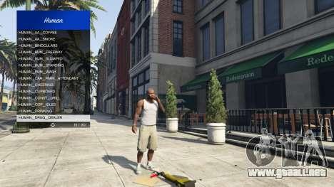 GTA 5 Scenario Menu 1.1 décima captura de pantalla