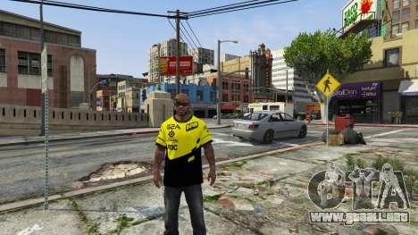 GTA 5 T-shirt para Natus Vincere Franklin tercera captura de pantalla