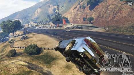 GTA 5 Spontaneous Chaos 0.08 segunda captura de pantalla