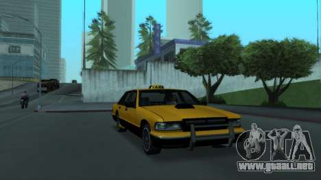 New Taxi para visión interna GTA San Andreas