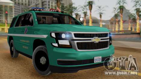 SACFR 2015 Tahoe v1 para GTA San Andreas