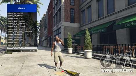 GTA 5 Scenario Menu 1.1 noveno captura de pantalla