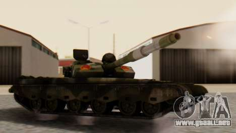 Type 99 para GTA San Andreas left