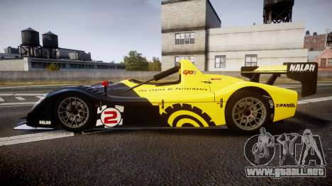 Radical SR8 RX 2011 [2] para GTA 4 left