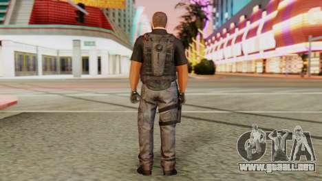 [GTA5] BlackOps2 Army Skin Black para GTA San Andreas tercera pantalla