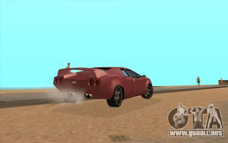 GTA VC Infernus SA Style para la visión correcta GTA San Andreas