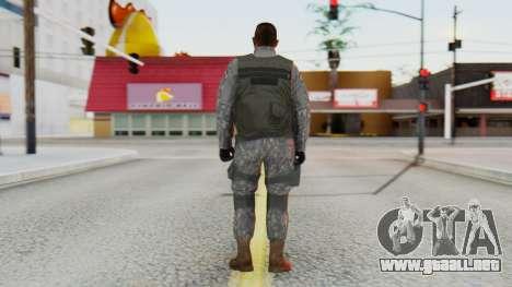 [GTA5] BlackOps1 Army Skin para GTA San Andreas tercera pantalla