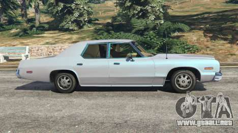 GTA 5 Dodge Monaco 1974 [Beta] vista lateral izquierda