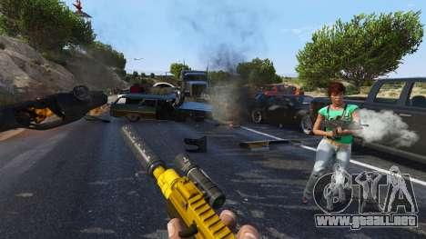 GTA 5 El levantamiento de los ciudadanos (Chaos Mode)  cuarto captura de pantalla