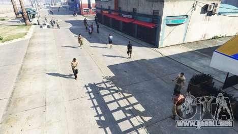 Realista, llenando las calles y carreteras 4GBRA para GTA 5