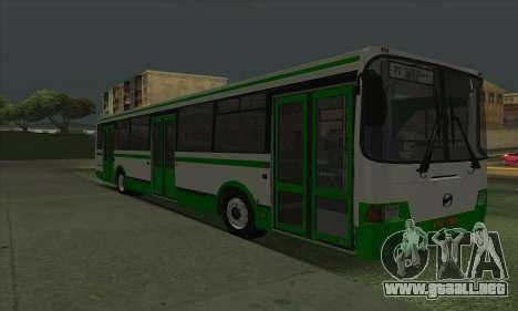 LiAZ 5293.00 para GTA San Andreas left