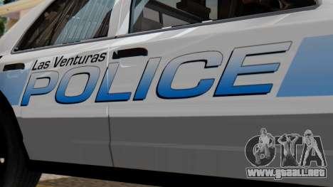 Police LV 2013 para la visión correcta GTA San Andreas