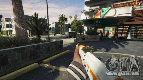 GTA 5 AK47 - Asiimov Edition sexta captura de pantalla