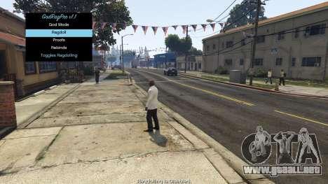 GTA 5 GodRagPro 1.1 segunda captura de pantalla
