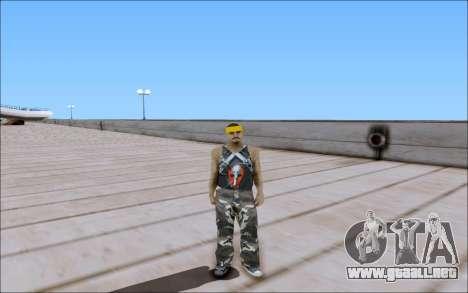 Los Santos Vagos Skin Pack para GTA San Andreas quinta pantalla