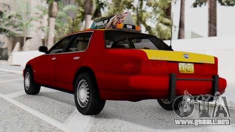 Dolton Broadwing Taxi para GTA San Andreas left